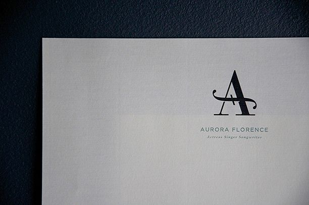 Aurora Florence monogram by Andrew Colin Beck | Design & Illustration