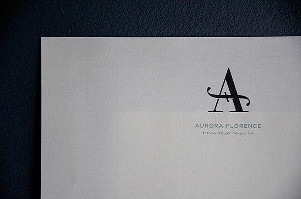 Aurora Florence monogram by Andrew Colin Beck | Design & Illustration