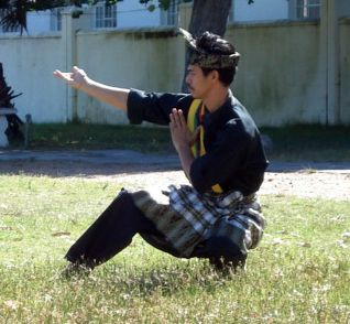 Silat Melayu is characterized by fixed hand positions and today is often thought of as a slow dance-like art among non-practitioners