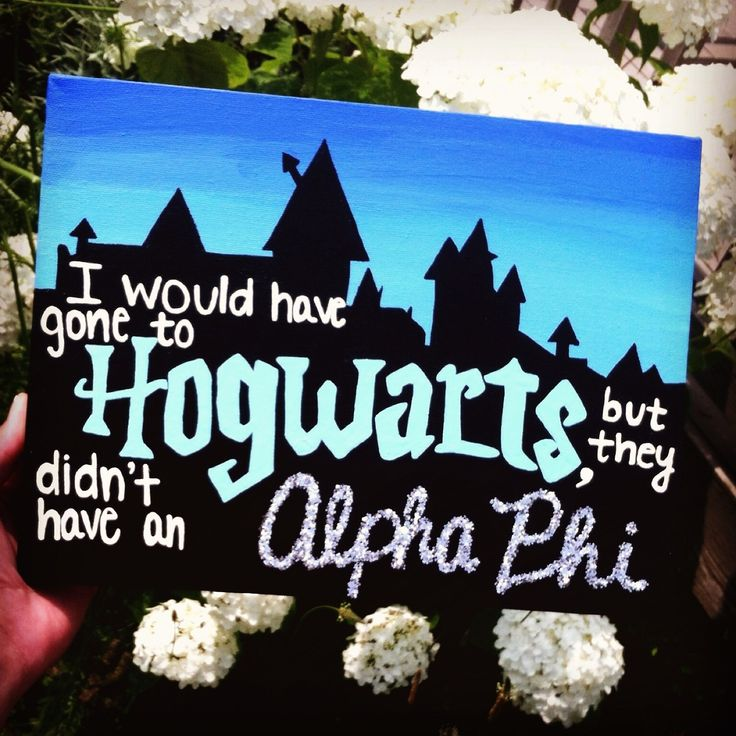 lovelycatastropheeee:  I would have gone to Hogwarts but they didn't have an Alpha Phi!