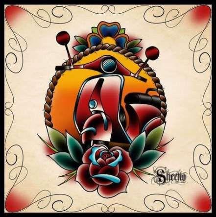 Trendy motorcycle tattoo designs beautiful Ideas – Другие эскизы тату