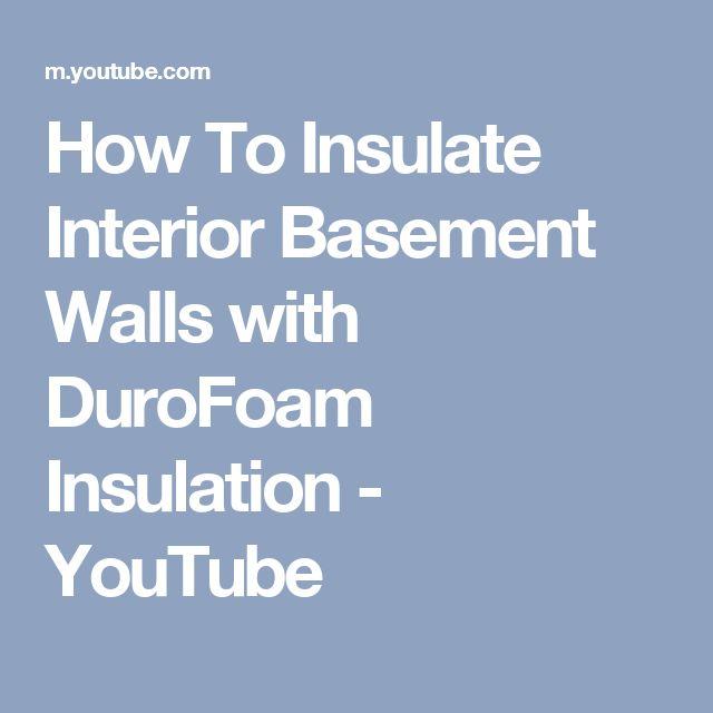 Best 25+ Basement Insulation Ideas On Pinterest