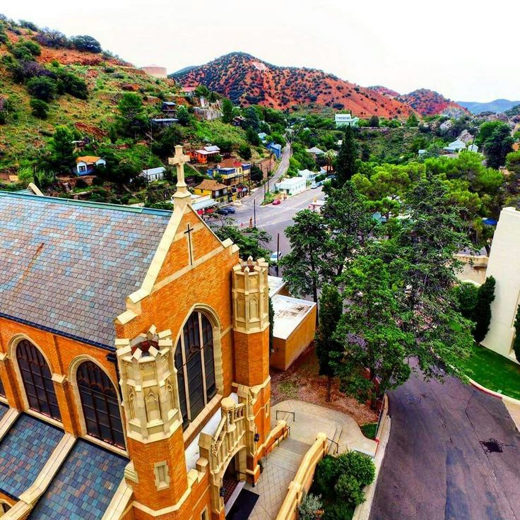 St. Patrick's Church in Bisbee, Arizona.