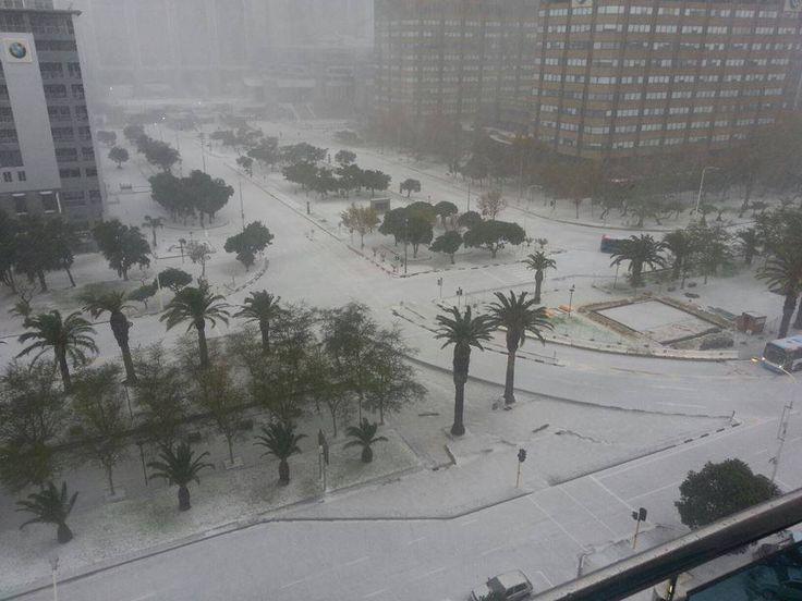 Cape Town Snow