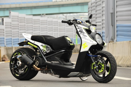 Ken Block Yamaha BW'S? Nah... just some Taiwanese guy...