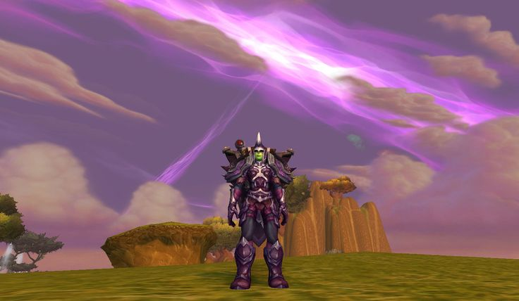 Partial Thunderpeak Set for Warrior Transmog