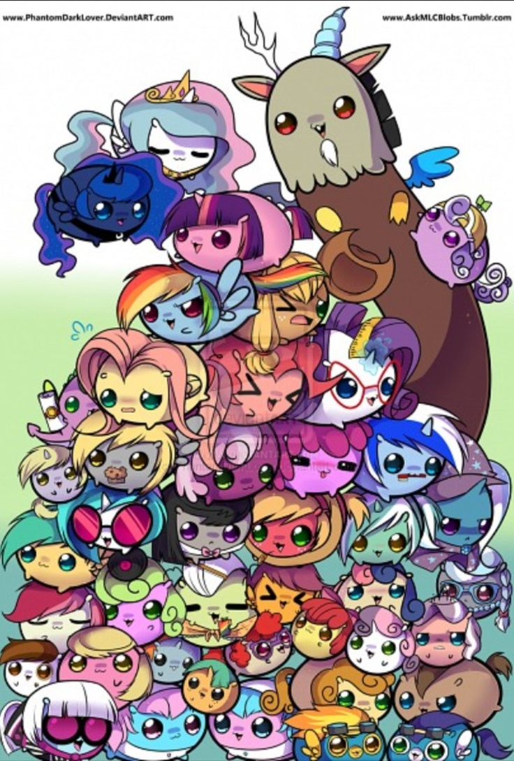 my little pony chibi | Mlp | Pinterest | Doctor whooves ...