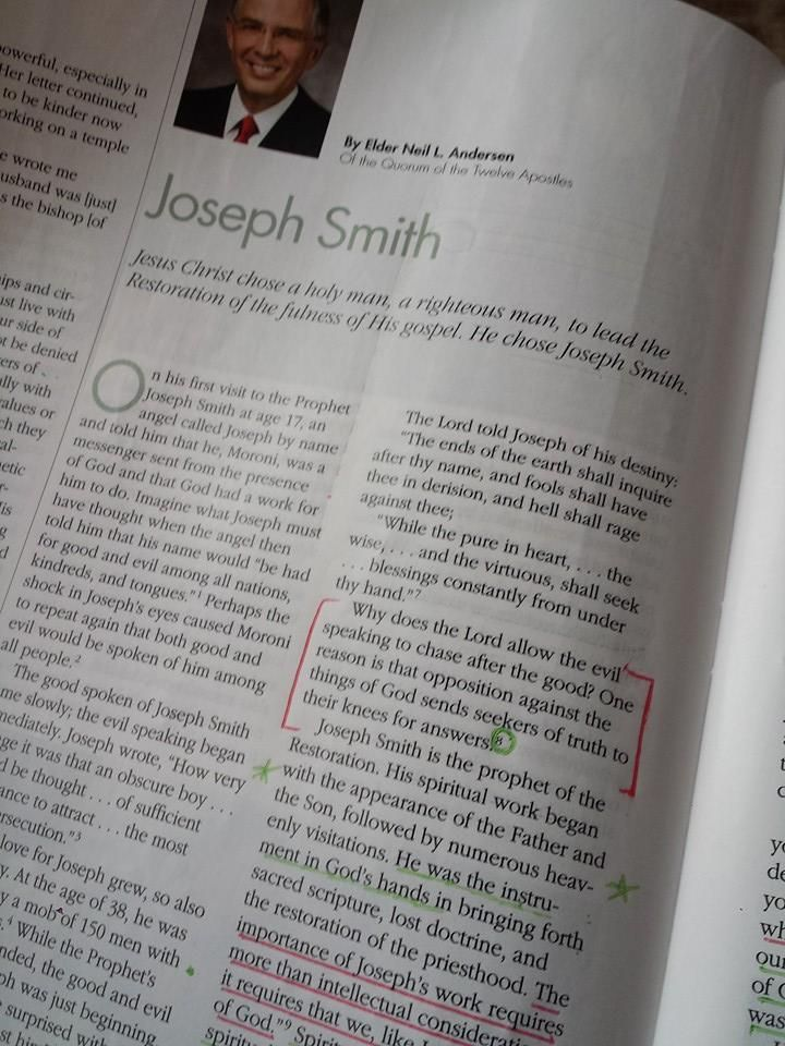 How I Strengthened My Testimony of Joseph Smith | We Talk of Christ, We Rejoice In Christ