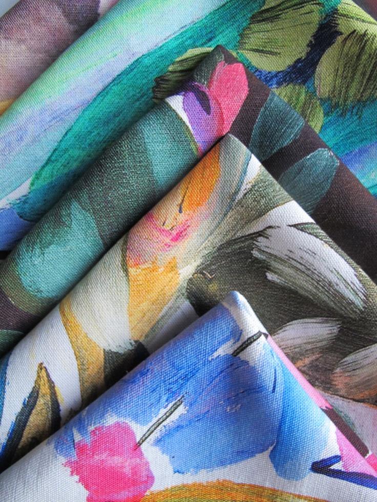 Bluebell Gray textiles