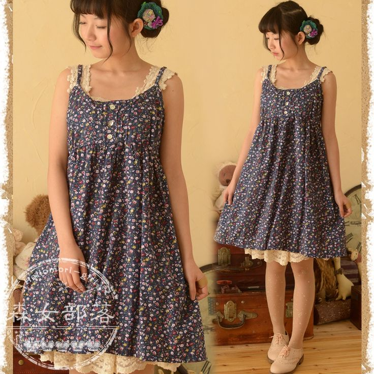 Find More Dresses Information about 2014 women's small fresh floral print spaghetti strap basic one piece dress mori forest style,High Quality dress blues white pants,China dress shoes men sale Suppliers, Cheap forest steps from Alice' s store on Aliexpress.com