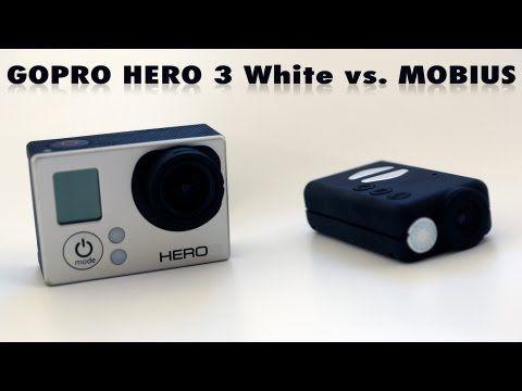 ▶ Mobius vs GOPRO White 1920X1080 test - YouTube
