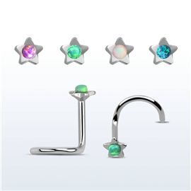 Piercing do nosu - hvězdička PNO00230 http://www.piercingate.cz/piercing-do-nosu-hvezdicka-pno00230