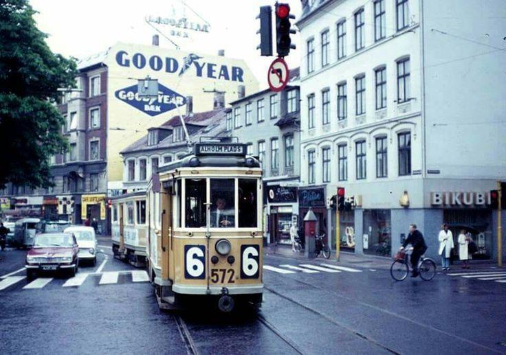 Vesterbrogade med linie 6 i 1968