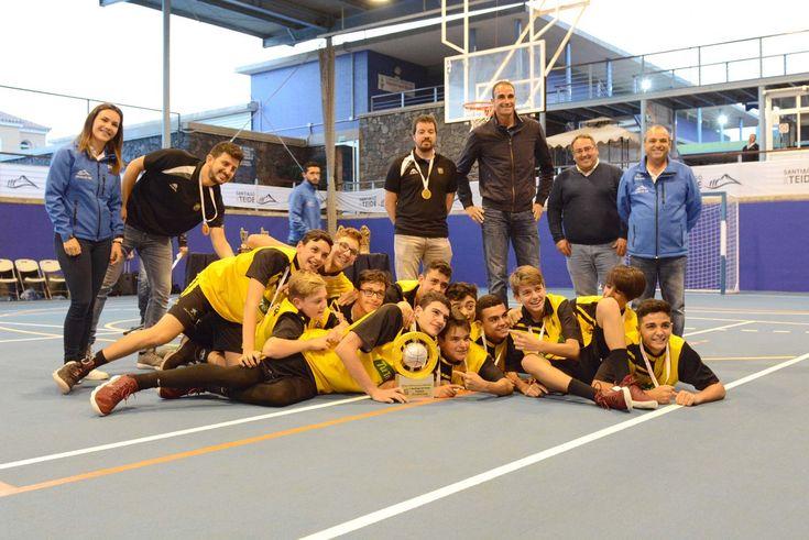 Fundación C. B. Canarias gana el III Torneo Internacional Santiago del Teide