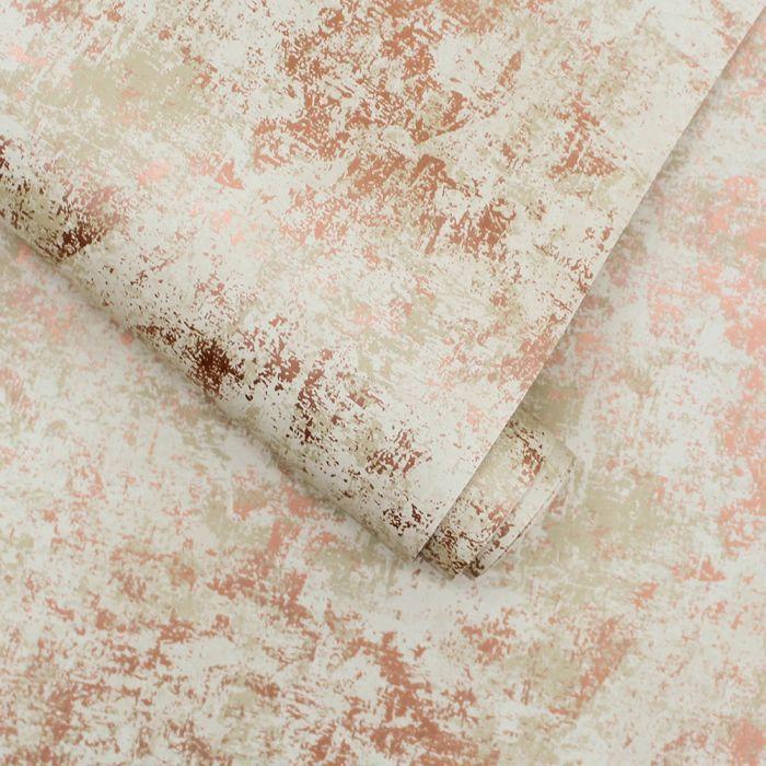 Distressed Gold Leaf In 2020 Pink Removable Wallpaper Metallic Gold Leaf Leaf Wallpaper
