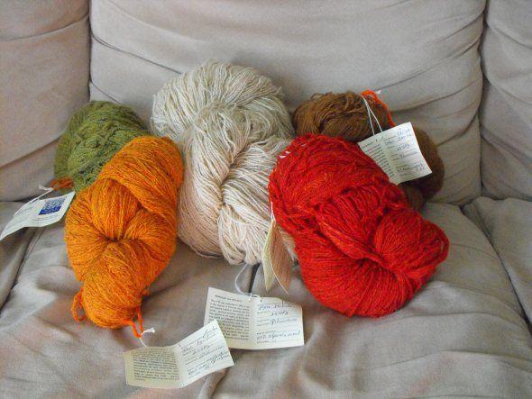 Alpaca yarn (Gift for Natalie)