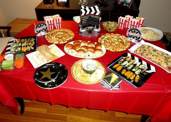 Oscar Movie Themed Food
