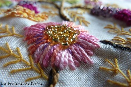 Les Broderies - Hand embroidery.