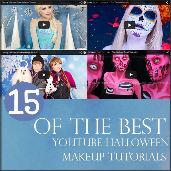 15 of the best youtube halloween makeup tutorials - Youtube Halloween Crafts