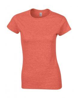 Dames t-shirt bedrukt met uw eigen tekst voor slechts 6 euro