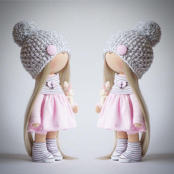 """300 Me gusta, 24 comentarios - Авторские Куклы (@alina.dmitriewa) en Instagram: """" Куклу купили ❗️❗️❗️ По вопросам заказа, цен, сроков обращайтесь по контактам в профиле или…"""""""