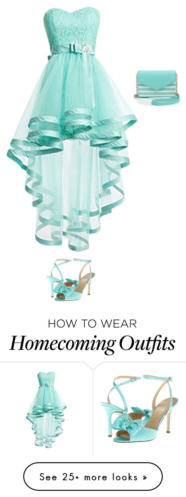 """""""my potential Sadie Hawkin's dress"""" by kallenw on Polyvore featuring Kate Spade"""