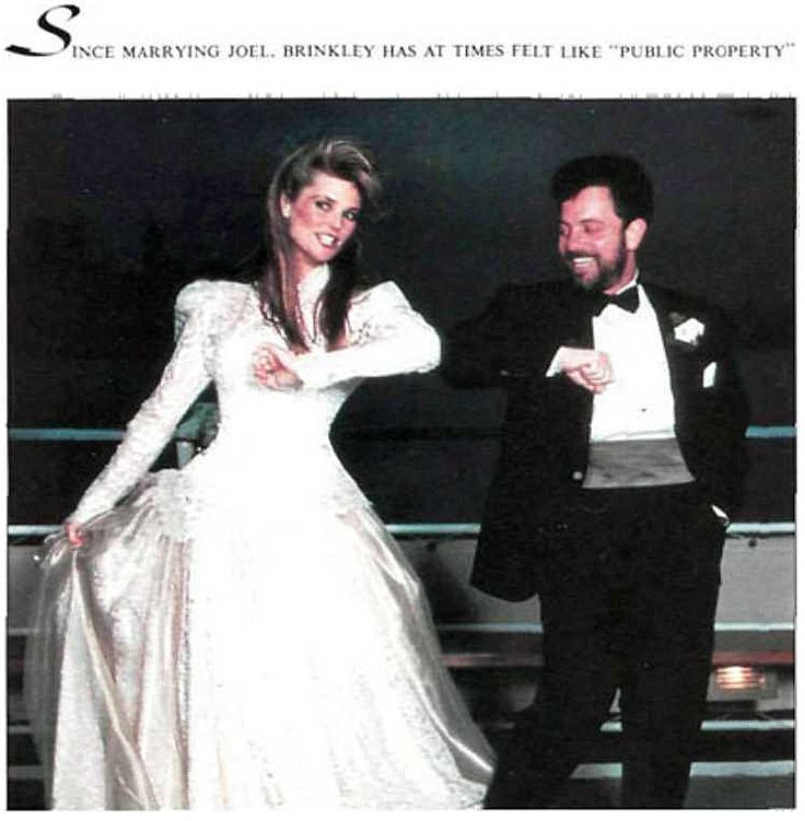 """1989 Sports Illustrated Swimsuit. Since marrying Billy Joel Christie Brinkley has at times felt like """"public property""""."""