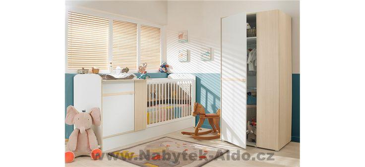 Dětský pokoj pro miminko i školáka Clapotis P0N.605-173