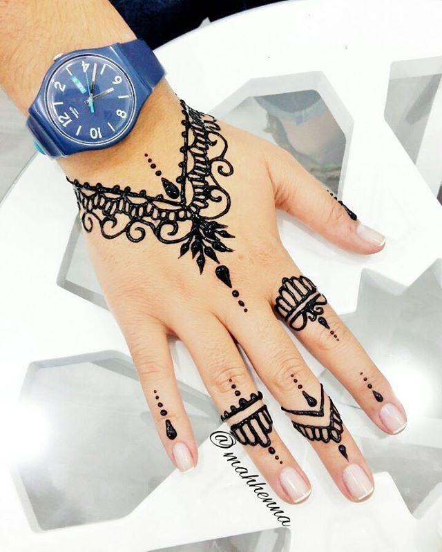Istanbul Simple Henna Tattoo Henna Tattoo Designs Hand Henna Tattoo Hand