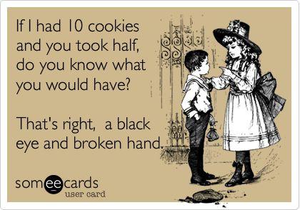 Not your cookies