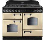 RANGEMASTER Classic 110 Dual Fuel Range Cooker - Cream