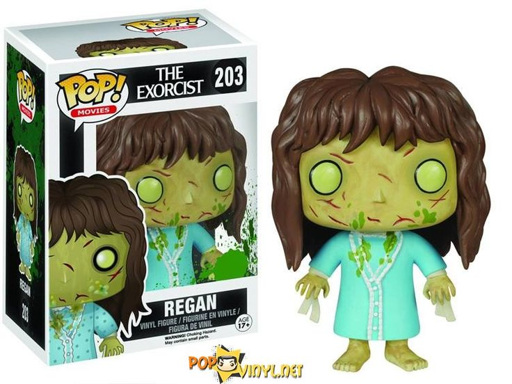 Funko has released yet another POP! into the Horror series, this time we have the first images of the creepy 1972 movie classic featuring Regan from The Exorcist. The figure depicts Regan in her final transformation with cuts on her face, green vomit on her pyjamas along with her limb restraints. The Regan POP Vinyl …