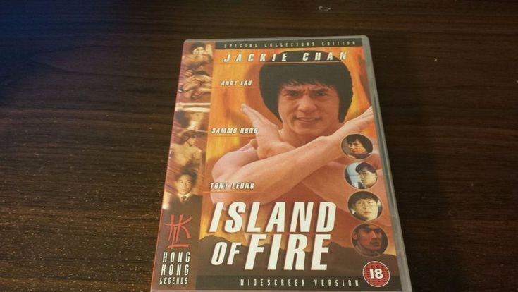 Jackie Chan Island of Fire Hong Kong Legends Region 2/ PAL format