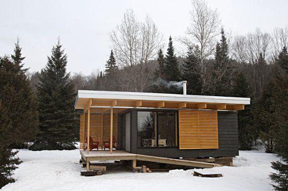Un toit au milieu de la nature   Ariane Krol   Québec