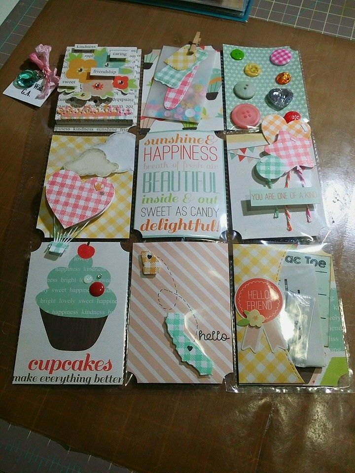Pocket Letter Cute Cupcake