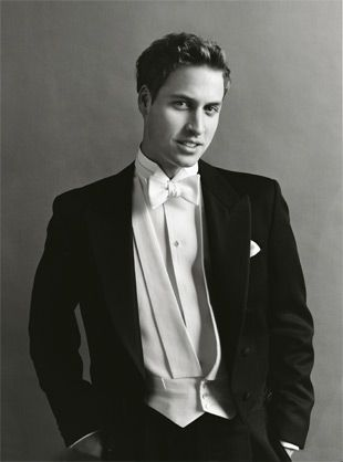The handsome Royal Prince William :: Mario Testino 2003