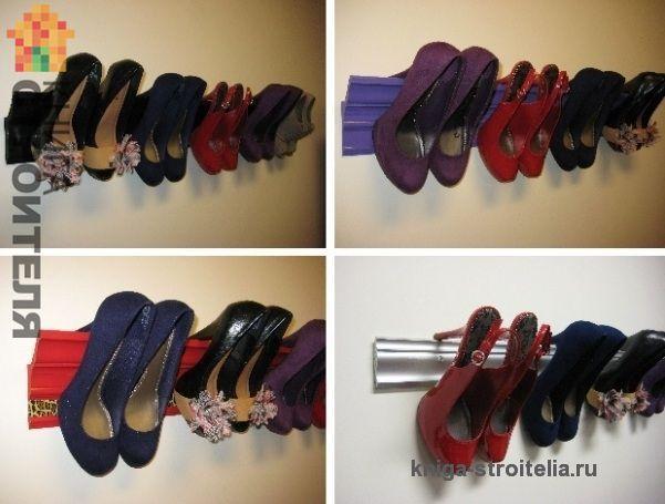 схема гардеробной