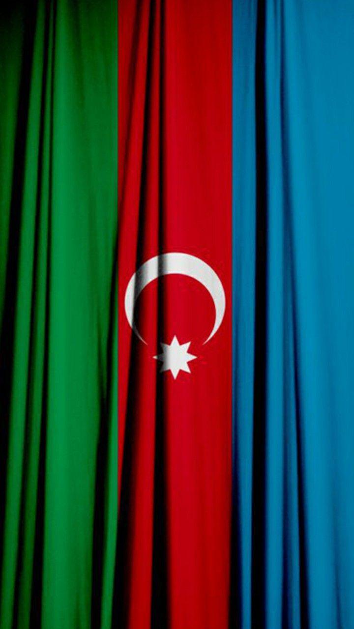 4k Hd Azərbaycan Bayragi Divar Kagizi Azerbaijan Flag Wallpaper Wallpaper Decor Home Decor