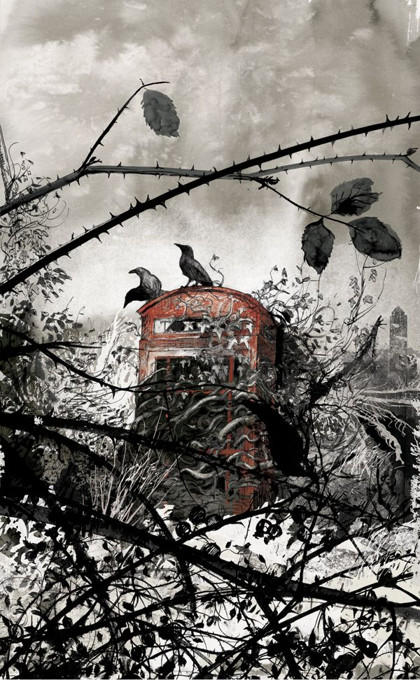 'London Withering' from the 'Memory Palace' exhibition