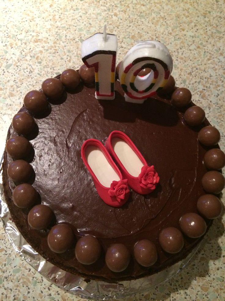 Alice's 10th birthday cake