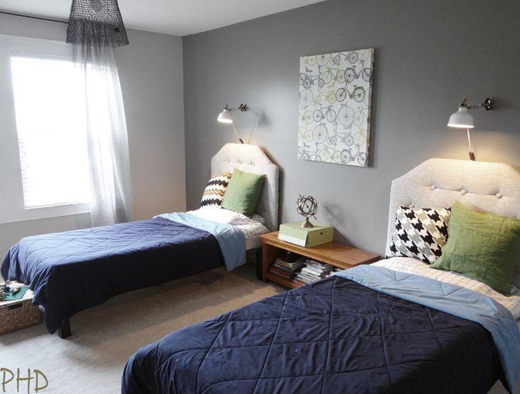 Shared Boys Geometrical Bedroom: Best 25+ Teen Shared Bedroom Ideas On Pinterest