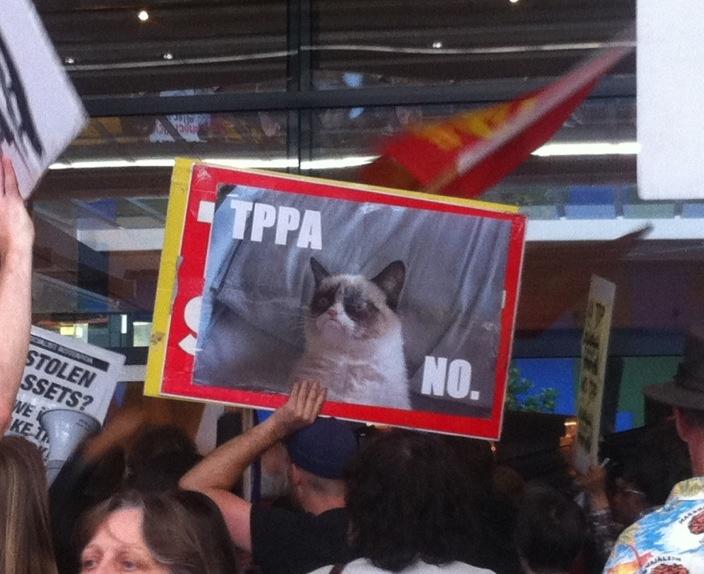 Even Grumpy Cat says No to #TPPA