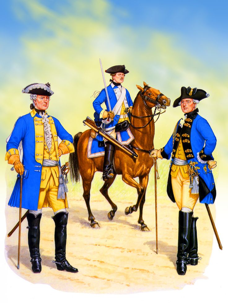 Frederick the Great's Prussian Dragoons during the Seven Years War