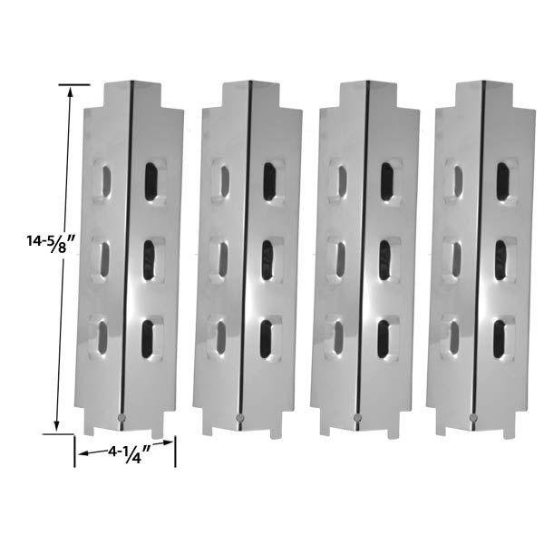 4 PACK UNIVERSAL STAINLESS STEEL HEAT SHIELD FOR RANGE MASTER, MASTER CHEF MODELS 199-4758-2, 199-4759-0, 85-3004-2, 85-3005-0, CHARBROIL, KENMORE AND OTHER GAS GRILL MODELS  Fits RANGE MASTER : 463441412 (Rangemaster) Range Master, 463441412 , 463440310- , 463441111-  BUY NOW @ http://grillrepairparts.com/shop/grill-parts/4-pack-universal-stainless-steel-heat-shield-for-master-chef-models-199-4758-2-199-4759-0-85-3004-2-85-3005-0-charbroil-kenmore-and-other-gas-models/