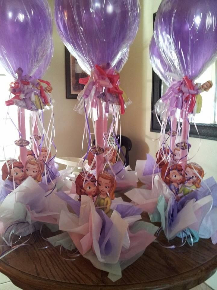 Sofia The First Centros De Mesa Sophia the first party games for kids