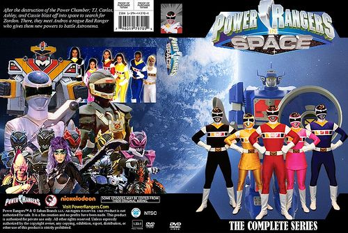 dvd cover in space power rangers pinterest. Black Bedroom Furniture Sets. Home Design Ideas