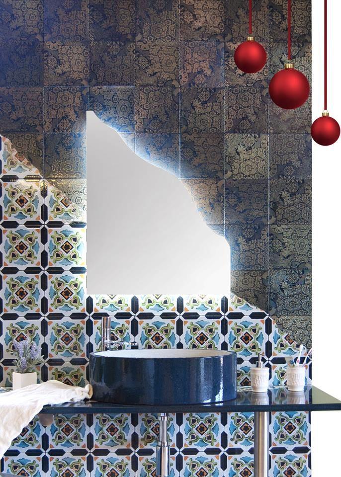 #piastrelle da #rivestimento bagno  www.artesole.net