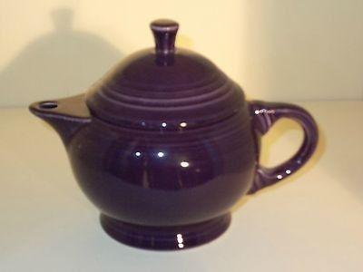 Homer Laughlin Fiesta Betty Crocker Purple 2-Cup Teapot- Rare Sample Sticker | #476517770