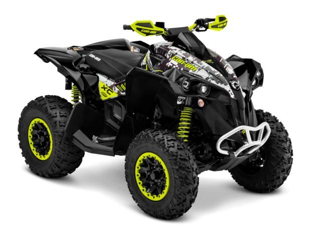 2015 Can-Am Renegade 1000X XC Green and Camo