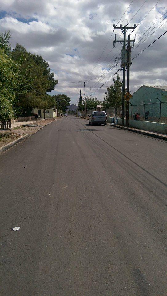 Parte de los resultados de la ejecución y beneficios económicos y/o sociales de la pavimentación con concreto asfaltico de la calle México entre Morelos...